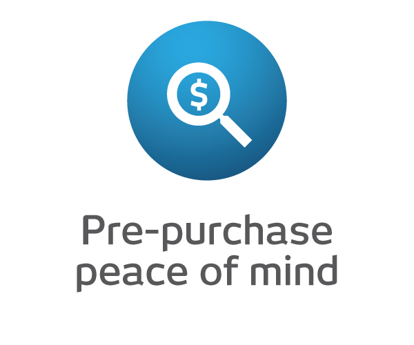 Pre-Purchase Peace of Mind